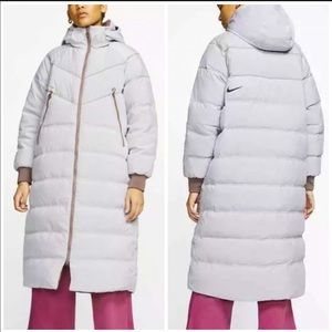 😍NIKE Down Fill City Long Loose Fit Parka 😍
